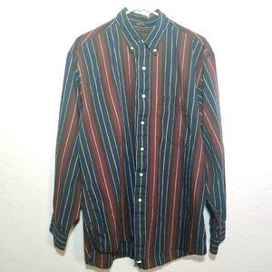Burberrys long sleeve button down shirt